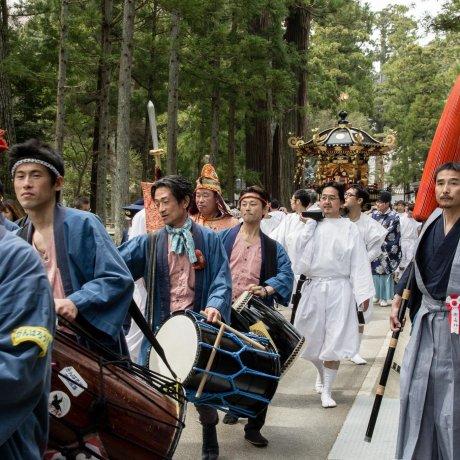 เทศกาล Hiyoshi Sanno ในมัตซึตชิมะ