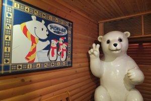 หมีสองนิ้วในบ้านน้ำแข็ง