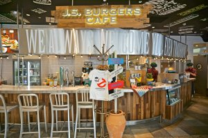 Eat In or Take Out at J.S. Burgers Cafe