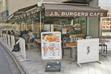<p>J.S. Burgers Cafe in Shibuya is located at the PARCO (Part 1) Building on 1F</p>