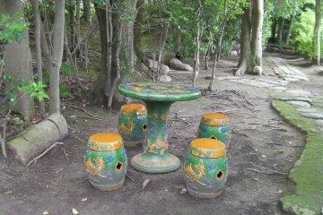 สวน Tokoen ในโอะกะยะมะ