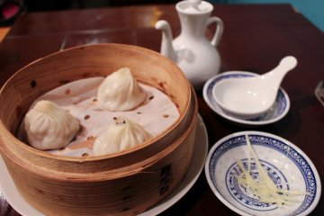 Xiaolongbao dumplings