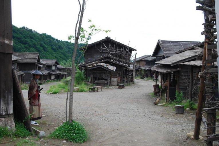 Shonai Eigamura in Tsuruoka City