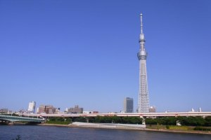 Tokyo Skytree ao longe
