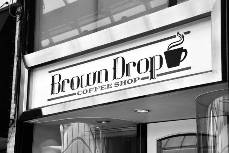 Brown Drop