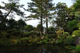 借景の庭園 柴田氏の庭 ふらりしました