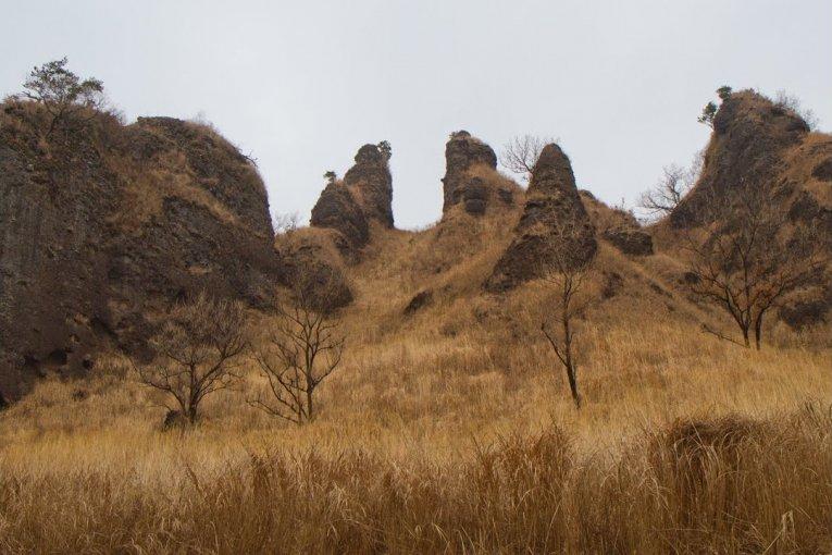 ผาหินของภูเขาระกัน