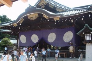 Yasukuni Shrine is the site of much political controversy in Japan