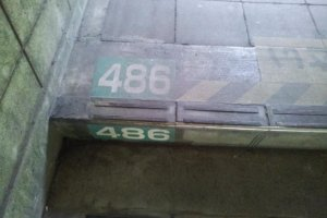 486 - The final step back to ground level