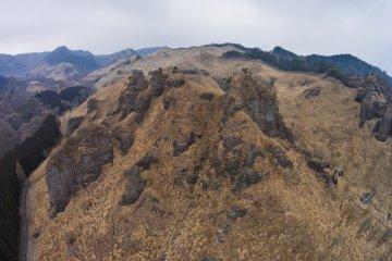 Mt. Takagi in Late Winter