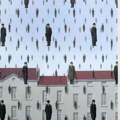 Exposição de Rene Magritte no Japão