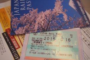 ตัวอย่างตั๋วจริง หลังจากแลกแล้ว