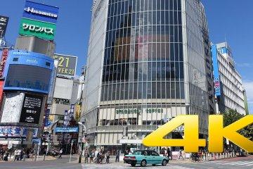 ห้าแยกชิบุยะในกรุงโตเกียว