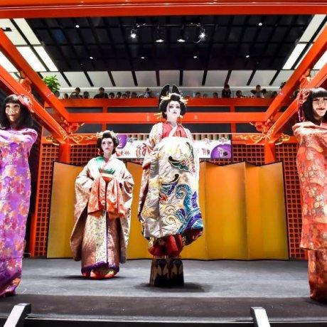 Festival Edo di Haneda Airport