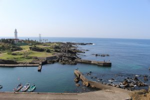 Room with a view – Nojimazaki lighthouse just minutes away.