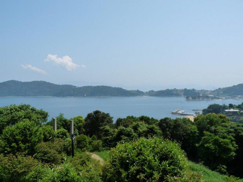Seaside view in Ushimado town