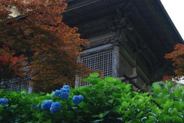 Yamadera - the temple in the mountain - was visited by Basho on recommendation from the locals.