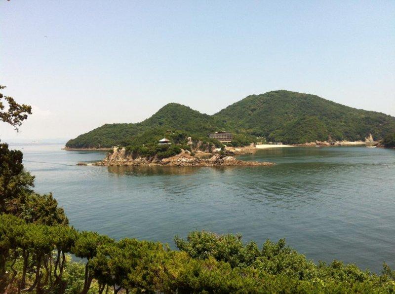 View of Benten Island from Taichiro Fukuzenji Temple