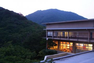 Peaceful evening on Sensuijima