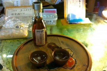 Sampling the local medicinal spirits