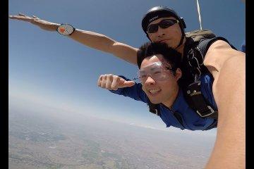 Прыжок с парашютом в Кавадзиме, Сайтама