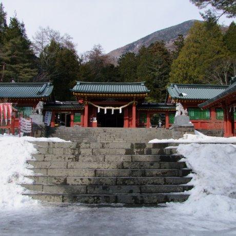 Futarasan Chugushi Shrine in Snow