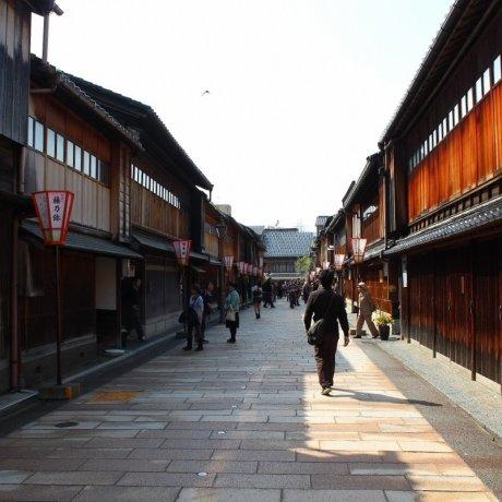 金沢「ひがし茶屋街」