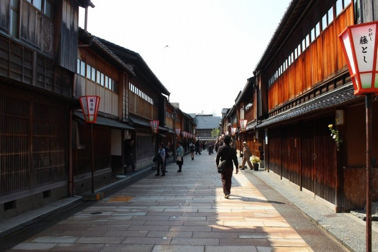 East Teashop District, Kanazawa