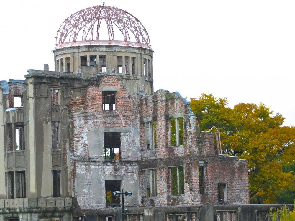 Cúpula da Bomba Atómica (Memorial da Paz) de Hiroshima