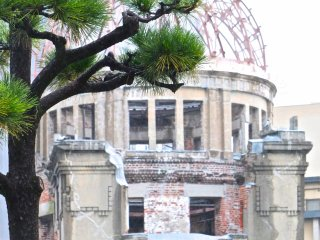 Beauty in the midst of tragedy: Hiroshima's Atomic Bomb Dome