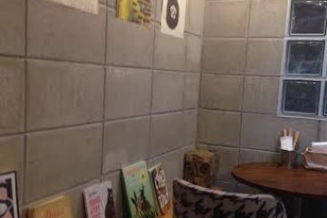 <p>The back room of Cafe Coyote</p>