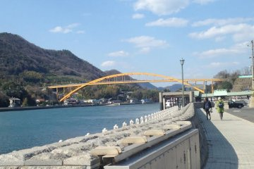 <p>Onomichi is also some to some of the best bike paths in Japan</p>