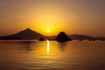 Волшебный закат над Вакаса Фудзи