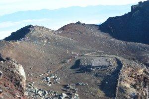 Suasana di puncak Fujisan