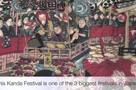 Festival Besar di Kuil Kanda