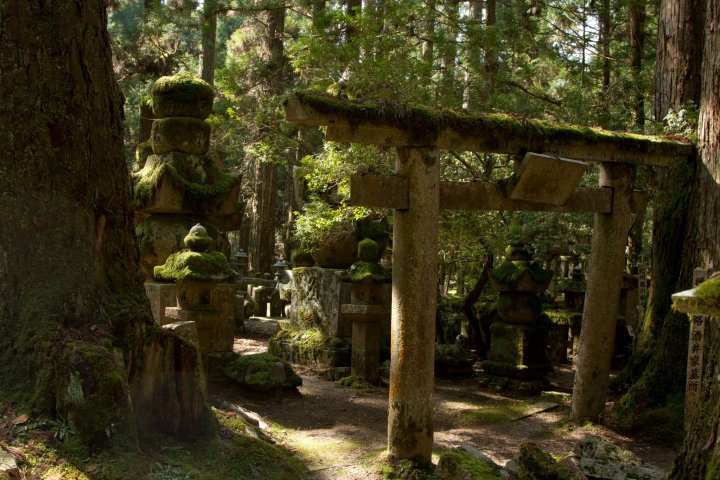 Pemakaman yang terindah di Jepang