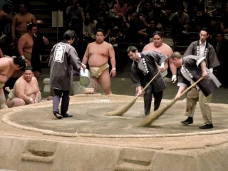 Sweeping the sumo ring