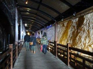 ทางเดินเข้าสู่ถ้ำอิวะยะ (Iwaya)