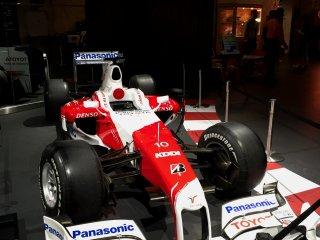 Тойота TF109 2009 года, используется для Формулы 1