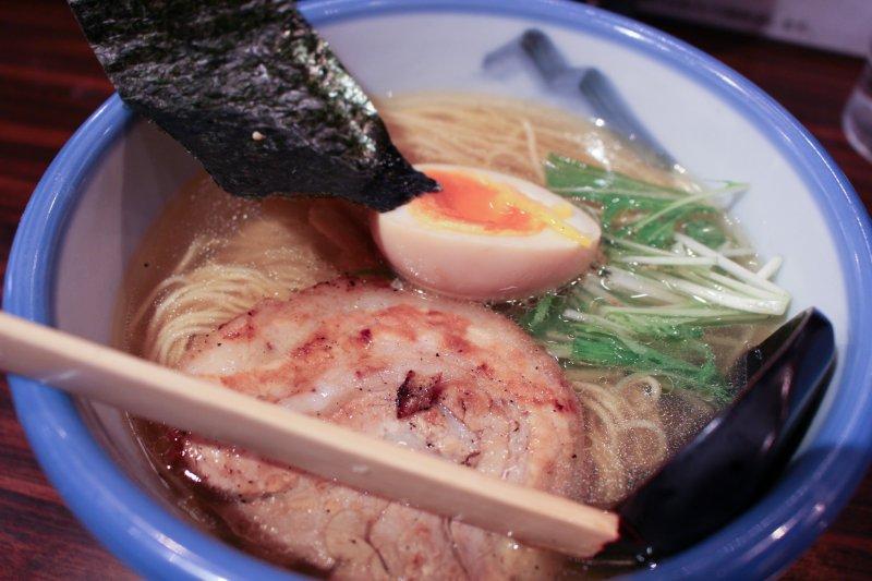 <p>Yuzu shio ramen</p>