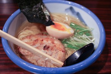 <p>More shots of the Yuzu shio ramen</p>