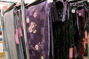 They sell a wide range of kimono and kimono accessories