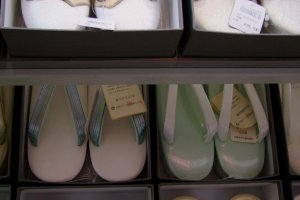 They even sell kimono footwear!