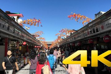 A Video Tour of Senso-ji