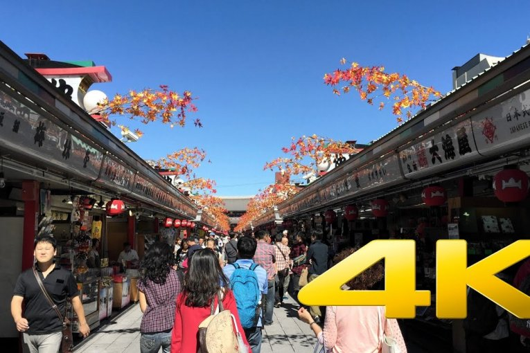 Chùa Sensō-ji ở Asakusa
