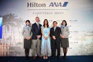 ヒルトンと全日本空輸株式会社(ANA)がサービス提携を開始