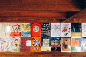 Some very interesting Japanese novels that come in very interesting covers