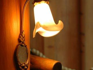 Одна из внутренних ламп, показывающая внимание к деталям.