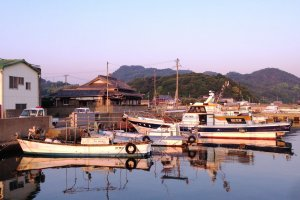 All is still in the fishing village of Ieura.