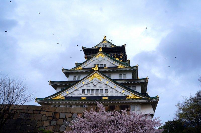 <p>오사카 성</p>